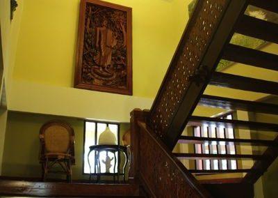 Thai hospitality in this classicly elegant teak stilt villa